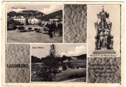 POTENZA -- LAGONEGRO -- VEDUTE -- CINQUANTENARIO DELL'INCONORAZIONE DI MARIA SS DEL MONTE SIRINO -- 1900 1950 -- - Potenza