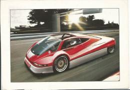 Etude De Design Par Renault, Cpm , Voyagée En 1993 , 2 Scans , état Moyen - Passenger Cars