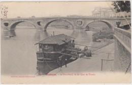 TOULOUSE -(31)- N°113 -LE PONT NEUF , VU DU QUAI DE TUNIS. - Toulouse