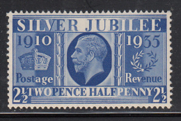 Great Britain MNH Scott #229 2 1/2p George V Silver Jubilee Issue - Neufs