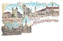 Slowakei-Slovaquie, Trnava-Nagyszombat 1899, Litho, Reproduction, - Eslovaquia