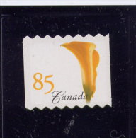CANADA 2004, # 2073aii, Flower Yellow Calla Lily FROM QUARTELY PACK  MNH, - Carnets