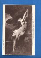 N°2024.. Musée De Dole... Femme Nue Attachée à Un Rocher : Angélique...  Jules Louis Marchard...... (recto-verso) - Pittura & Quadri