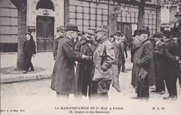 PARIS X� CHATEAU d� EAU Manifestations CGT 1er MAI 1906 journ�e 8 heures PREFET LEPINE et GENERAUX