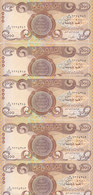 IRAQ 1000 DINAR 2013 P-99 LOT X5 UNC Notes */* - Iraq