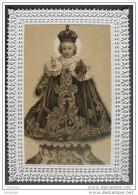 Ancienne IMAGE PIEUSE (canivet) L´ENFANT JESUS DE PRAGUE / HOLY CARD / SANTINO - Images Religieuses