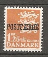 1,25 Kr Postfærge MNH / **   (dk598) - Service