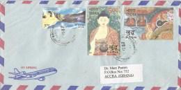 India 2007 Alappuzma Buddha Painting Roop Kund Mountain Cover - Budismo