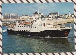 4AG1865 LE GUERVEUR TRAVERSEE QUIBERON BELLE ILE 2  SCANS - Ferries
