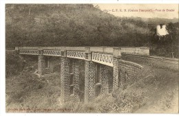 S1631 - 187 -  C.F.K.N. (Guinée Française) - Pont De Douke - Guinée Française