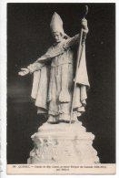 CANADA . QUEBEC . STATUE DE Mgr LAVAL, PREMIER ÉVÊQUE DU CANADA (1658/1688) PAR HÉBERT - Réf. N°3995 - - Quebec