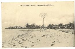 S1636 - Libreville  Village Et Pont M'Pyra - Gabon