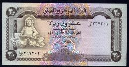 YEMEN : Banconota 20 Rials  (FDS) - Yemen
