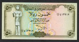 YEMEN : Banconota 50 Rials  (FDS) - Yemen