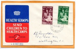New Zealand 1950 FDC - FDC