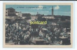TANGER, MOROCCO - LE GRAND SOKKO. OLD POSTCARD C.1910 #79. - Tanger