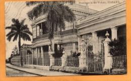 Vedado Haban Cuba 1905 Postcard - Cuba