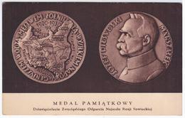 Poland Jozef Pilsudski, Chief Of State, First Marshal Of Poland Polska, Lithuania Wilno - Polonia