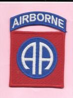 Patch D´épaule 82ème Division Aéroportée Américaine. - Scudetti In Tela