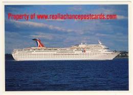 Cruise Ship Ocean Liner Carnival Cruise LInes The M.V. Fascination - Passagiersschepen