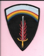 Patch D´épaule SHAEF Seconde Guerre Mondiale. - Ecussons Tissu