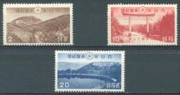 JAPAN - MLH/*- 1940 - KIRISHIMA - Yv 305 307 308 Mi 296 298 299 - Lot 10509