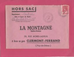 BEQUET 50C SUR ENV HORS SAC LA MONTAGNE POUR CLERMONT 18/7/1973    TDA34 - 1971-76 Maríanne De Béquet