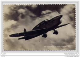 "AVION  CAUDRON RENAULT   ""SIMOUN ""  SUPERBE  AVION  TRES RAPIDE - 1946-....: Moderne"