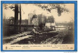 ABLAIN-Le Chateau  Sous Les Branches -guerre 1914-15 Un Militaire Assis--EL D- A Voyagé En 1915 - Other Municipalities