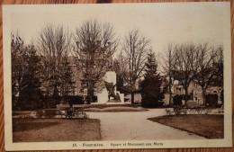 59 : Fourmies - Square Et Monument Aux Morts - (n°3128) - Fourmies