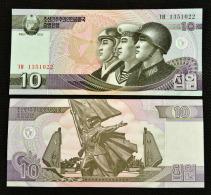 Korea 10 Won. New. Uncirculated. Asian Banknotes. UNC. 1PCS. - Korea, Noord