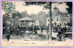 33 - ARCACHON -- La Place Des Palmiers - Arcachon