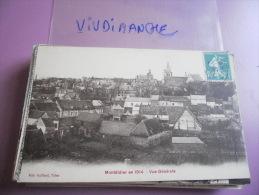 MONTDIDIER EN 1914 - AUTRE VUE GENERALE - CPA ECRITE TBON ETAT - Montdidier