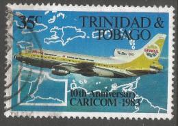 Trinidad & Tobago. 1983 10th Anniv Of CARICOM. 35c Used. SG 626 - Trinidad & Tobago (1962-...)