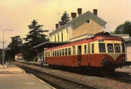 AL 321 - Autorail X 2474 En Gare - SARLAT - Dordogne 24 - SNCF - Sarlat La Caneda