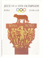 Roma - JEUX De La XVII OLYMPIADE - Olympic Games