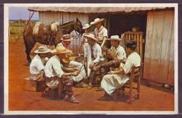 CPSM  Du PARAGUAY         Avec  ANIMEE      GUITARE Et  CHEVAL