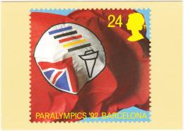 PARALYMPICS ´92 BARCELONA - Olympic Games
