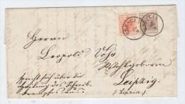 Austria BRESCIA/EIPZIG COVER - 1850-1918 Imperium