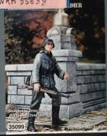 "- WARRIORS - Figurine "" Waffen SS Grenadier  "" - 1/35°- Réf 35099 - Figurines"