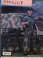 "- WARRIORS - Figurine "" Waffen SS Mechanic  "" - 1/35°- Réf 35119 - Figurines"