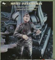 """- WARRIORS - Figurine """" Fantassin Soviétique  """" - 1/35°- Réf 35137 - Figurines"""