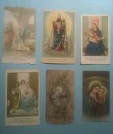 Omaggio A Gesù Bambino,Maria Vergine S.S. D´Oropa,Maria Signora Della Salute,Sacra Famiglia (2),Mater Boni Consilii S144 - Santini