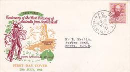 Australia 1962 Stuart Expedition Addressed  FDC - FDC