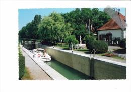 21 - BRAZEY EN PLAINE - Canal De Bourgogne - écluse 73 Pont Hémery - 2003 - Bateau - Autres Communes