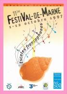 CPM    IVRY     FESTIVAL DE MARNE - Ivry Sur Seine