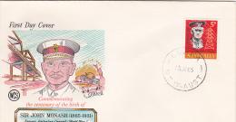 Australia 1965 Monash Wesley FDC - FDC