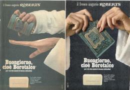 1967/8 - BOROTALCO  -  10  Pagine  Pubblicità Cm. 13 X 18 - Riviste