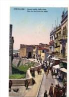 C P A------ASIE---PALESTINE-- JERUSALEM--------rue De La Porte De Jaffa-------voir 2 Scans - Palästina