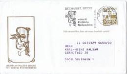 Premier Jour D Emission  Herman Walter Sieger - FDC